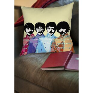 Sixties Legacy Printed Throw Pillow