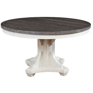 Buy clear Georgetown Round Dining Table By Beachcrest Home