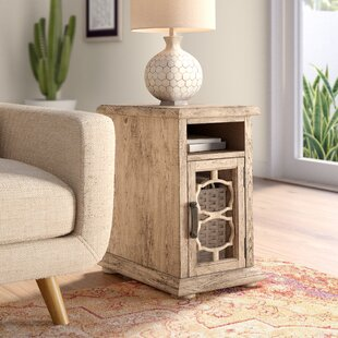 West Newbury End Table by Bungalow Rose Great price