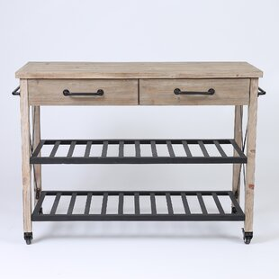 Trent Austin Design Adelbert 2 Drawer Bar Cart