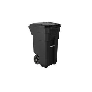 32 Gallon Curbside Trash & Recycling Bin By Suncast Commercial