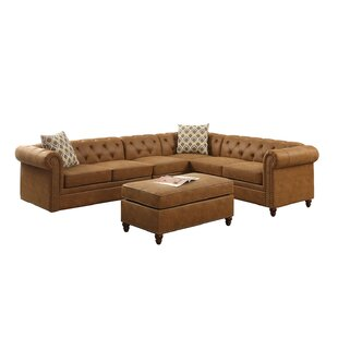 Cherwell Right Hand Facing Sectional Ottoman