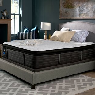 Great deal Response 16 Plush Pillow Top Mattress and 9 Box Spring By Sealy