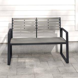 Kellam Aluminium Bench By Sol 72 Outdoor