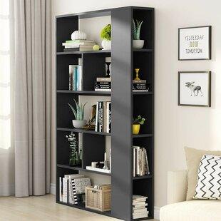 Aadi 5-Tier Standard Bookcase by Ebern Designs
