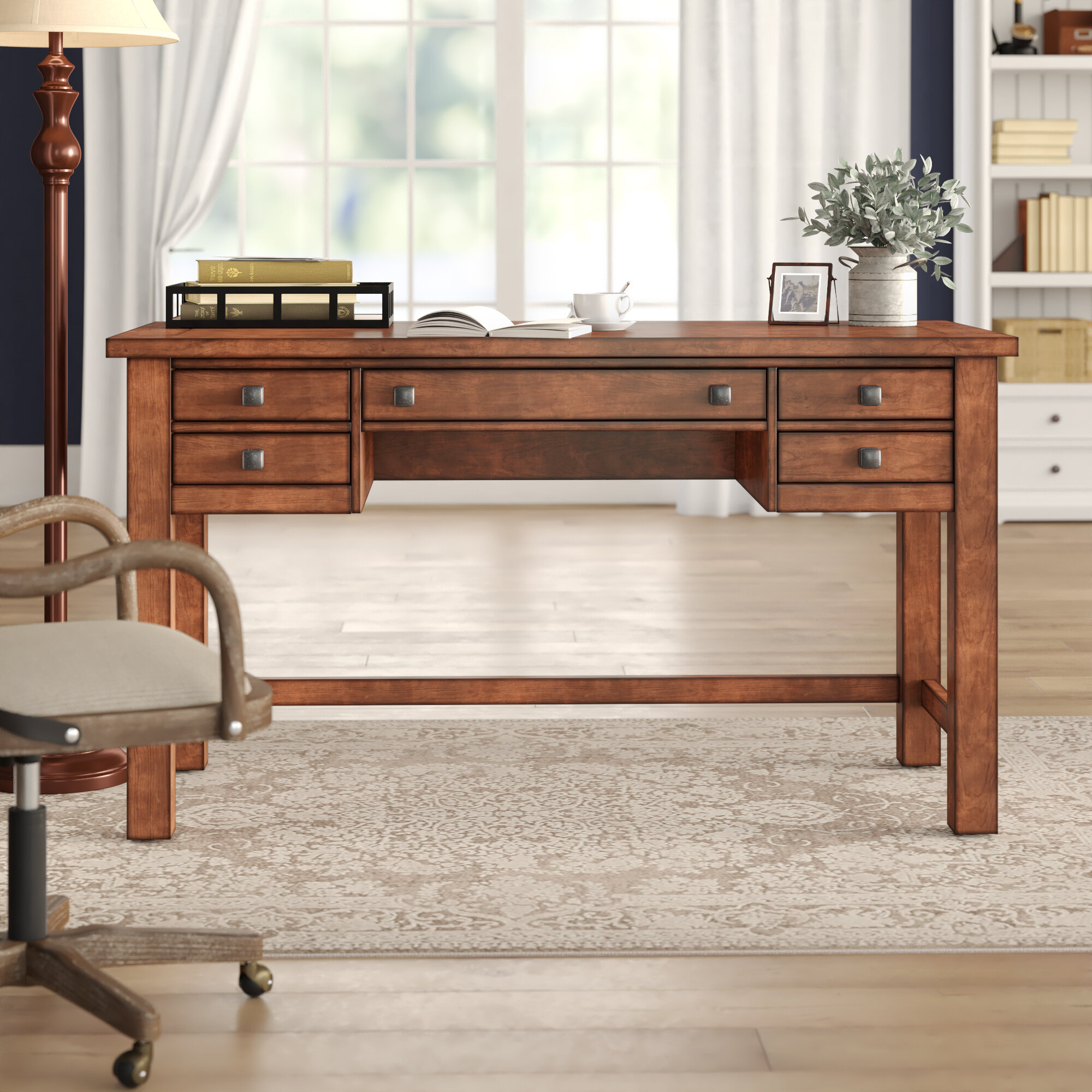 Parnell Solid Wood Desk
