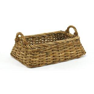 Mainly Baskets Cottage Linens Laundry Basket