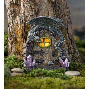 Dragon Door Fairy Garden by Wind & Weather