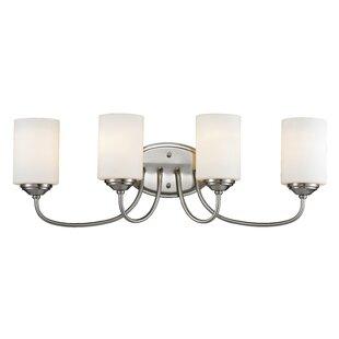 Charlton Home Weatherly 4-Light Vanity Light
