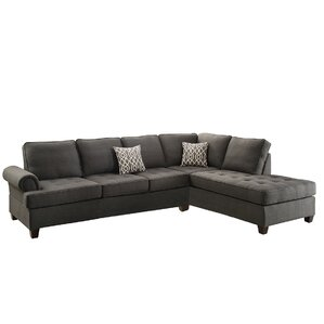 Poundex Bobkona Azura Reversible Sectional