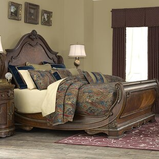 Bella Veneto Sleigh Bed by Michael Amini