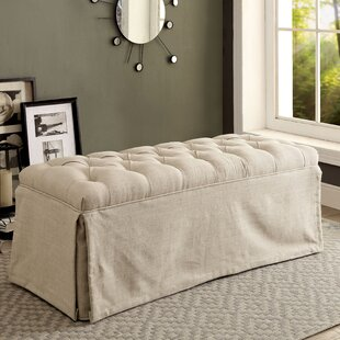 Eleanora Transitional Accent Upholstered Bench by Charlton Home