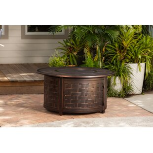Fire Sense Enclave Aluminum Propane Fire Pit Table