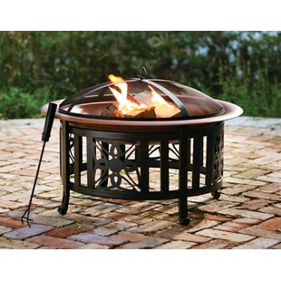 Luevano Metal Wood Burning Fire Pit By Sol 72 Outdoor
