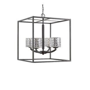 Ebern Designs Heavner 4-Light Foyer Pendant