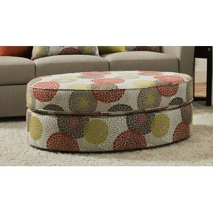 Roulston Simmons Upholstery Cocktail Ottoman ByRed Barrel Studio
