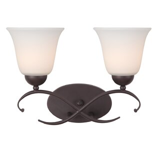 Compare prices Lily 2-Light Vanity Light By Canarm