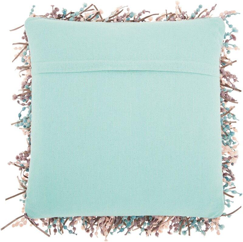 Ivy Bronx Everette Shag Throw Pillow Reviews Wayfair