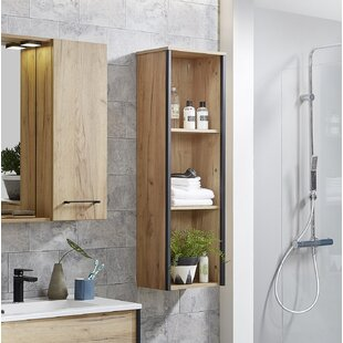Billie 36 X 115cm Free-Standing Bathroom Shelf By Ebern Designs