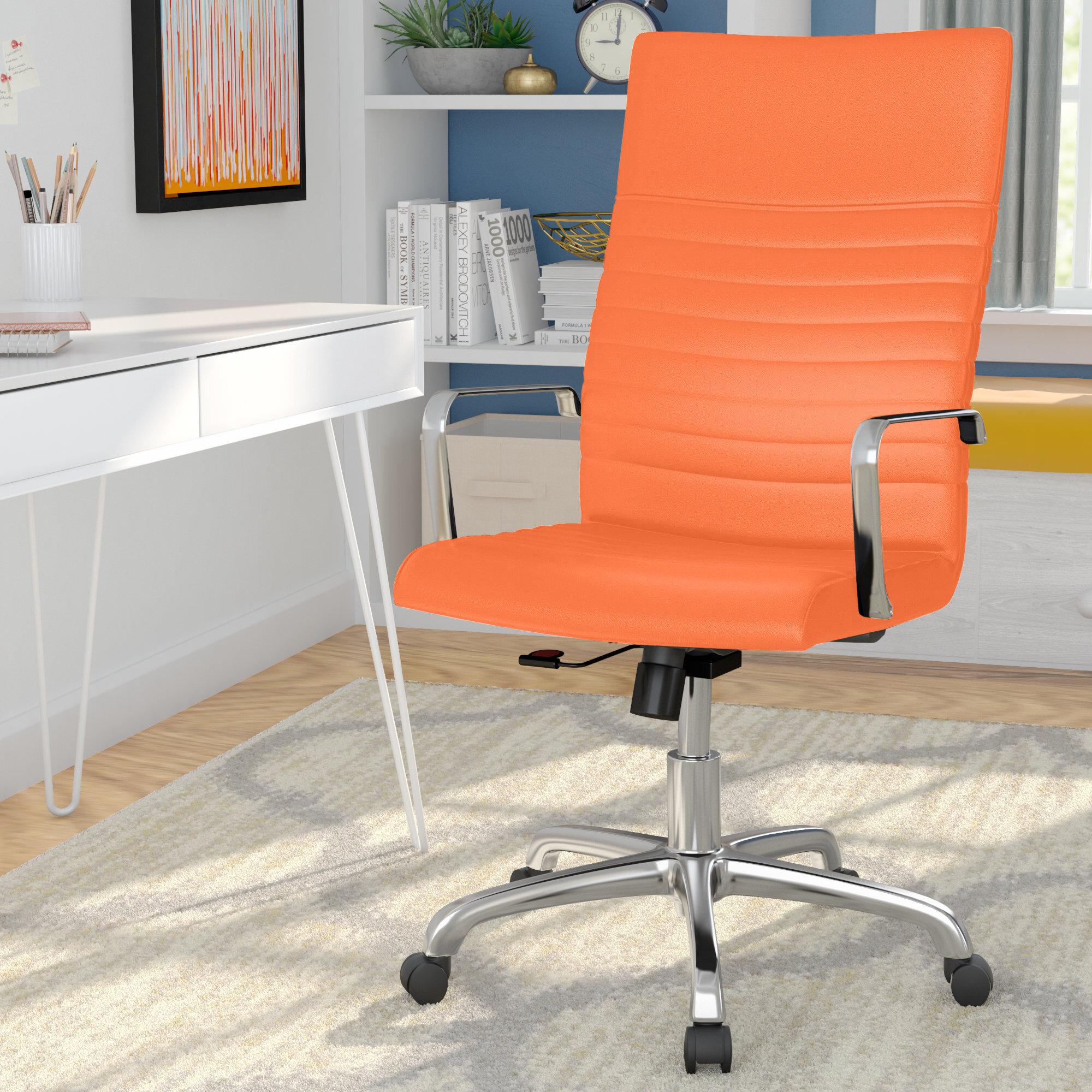 Orange Office Chairs You Ll Love In 2020 Wayfair