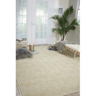 Interlock Ivory/Beige Indoor Area Rug byKelly Ripa Home
