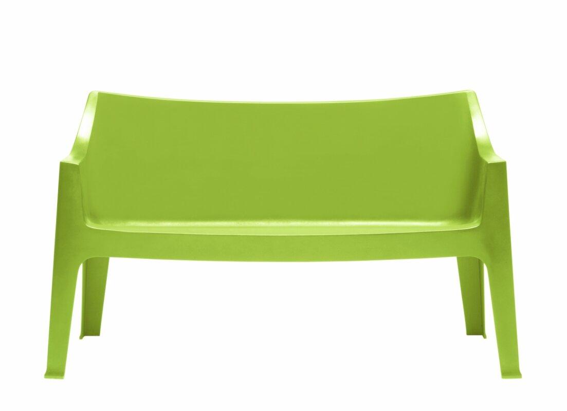SCAB 2-Sitzer Gartenbank Coccolona aus Kunststoff & Bewertungen ...
