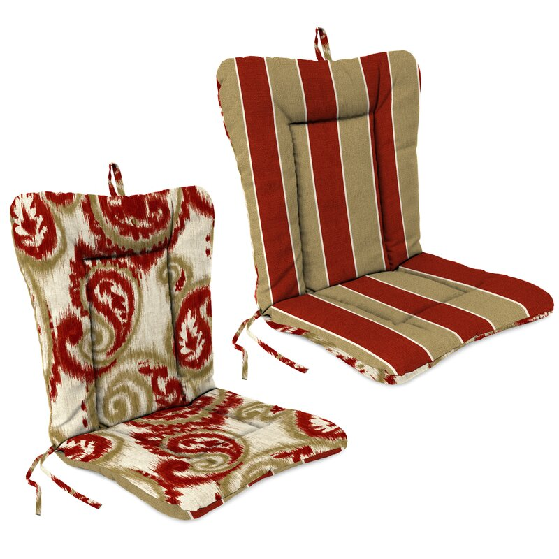 Beau Indoor/Outdoor Adirondack Chair Cushion