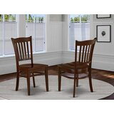 Mike Solid Wood Dining Chair (Set of 2) by Red Barrel Studio®