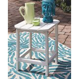 Lupe Plastic/Resin Side Table