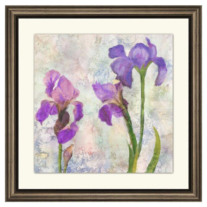 Ptm Iris Ii Framed Print Of Painting Wayfair