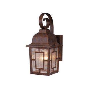 Find the perfect Faning 1-Light Outdoor Wall Lantern By Charlton Home