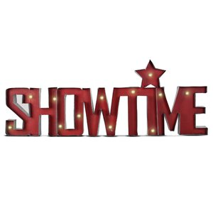 Showtime LED Metal Marquee Sign