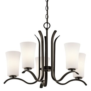 Guerro 5-Light Shaded Chandelier by Alcott Hill