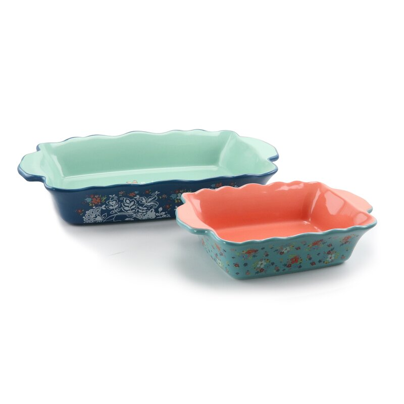 August Grove Rathbun 2 Piece Bakeware Set Wayfair