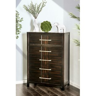 Brooten 5 Drawer Chest