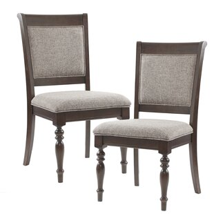 Best Price Beckett Upholstered Dining Chair (Set of 2) by Madison Park Signature Reviews (2019) & Buyer's Guide