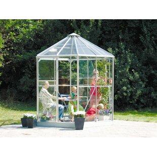 Hera 2.6m W X 2.2m D Greenhouse By WFX Utility