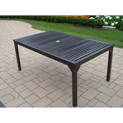 Rochester Metal Dining Table by Oakland Living Design