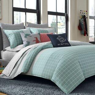 Gatson Cotton Reversible Comforter Set
