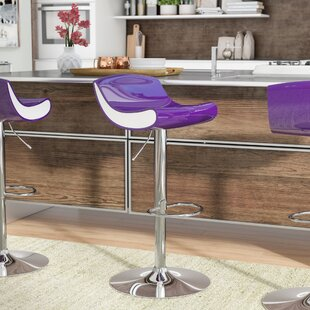 Big Save Arlington Adjustable Height Swivel Bar Stool by Ebern Designs Reviews (2019) & Buyer's Guide