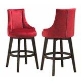 Rhett Swivel Bar & Counter Stool (Set of 2) by Red Barrel Studio®