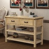 Currysheskin 45 Console Table by Rosalind Wheeler