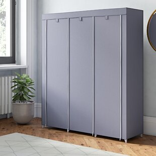 Mccarley Canvas 150cm Wide Portable Wardrobe By Rebrilliant