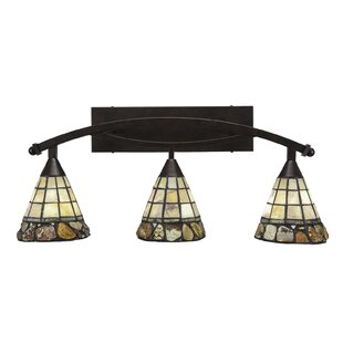 Astoria Grand Austinburg 3-Light Metal Fixture Vanity Light
