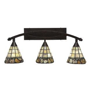 Astoria Grand Austinburg 3-Light Metal Fixture Vanity Light
