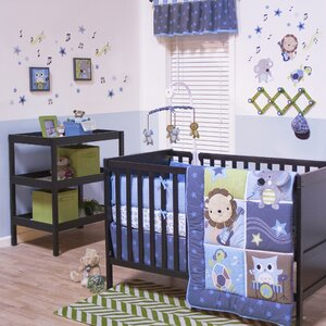 Jungle Jamboree 3 Piece Crib Bedding Set