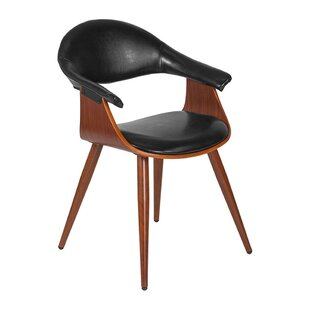 Font Leather Guest Chair by George Oliver