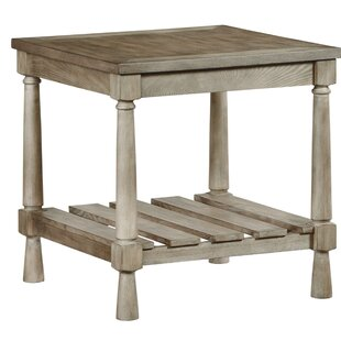 Sweatman End Table by Gracie Oaks