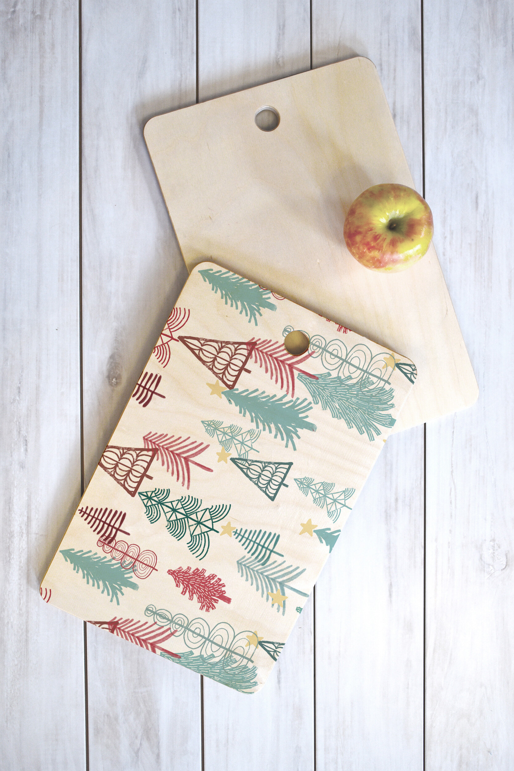 East Urban Home Dash And Ash Birch Wood Cutting Board Wayfair
