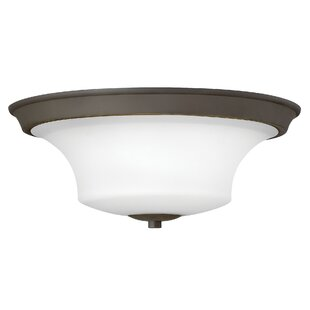 Red Barrel Studio Lurganville 3-Light Flush Mount